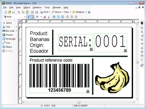 design nice label nicelabel express advanced barcoding solutions ltd