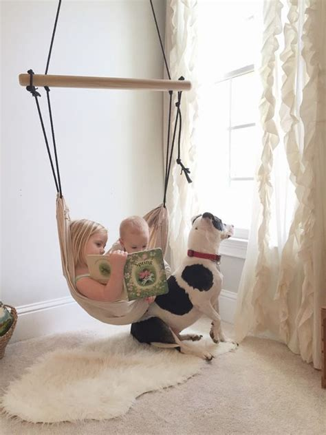 kids hammock swing chair 26 ways to incorporate hammocks into your interior
