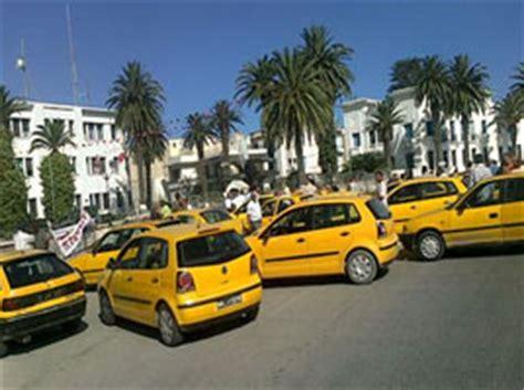 tunisie gr 232 ve des propri 233 taires de taxis individu