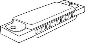 harmonica l coloriage harmonica 224 imprimer