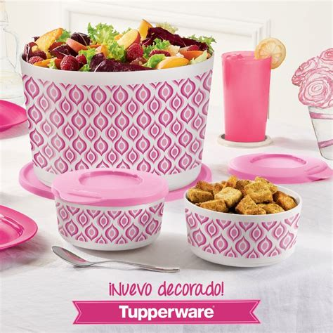 Tupperware Ilumina Bowl taz 243 n il 250 mina grande quot vive quot y d 250 o tazoncito il 250 mina quot vive quot tupperware