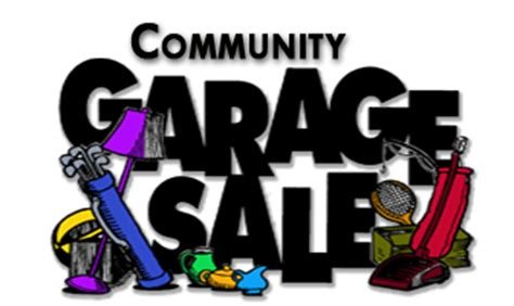 Community Garage Sale by Fall 2016 Community Garage Sale Waterford Trails Hoa