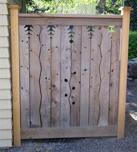 decorative privacy fences best 25 garden fence art ideas on pinterest fence art