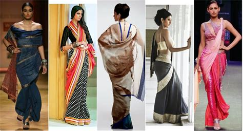 different ways of draping a saree latest styles to wear saree