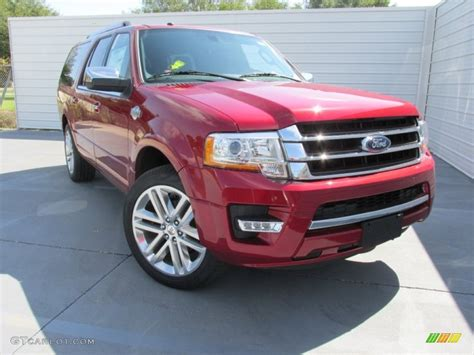 ford expedition red 2016 ruby red metallic ford expedition el king ranch