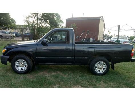 toyota commercial vehicles usa 2004 toyota tacoma regular cab 4 cyl 5 speed truck