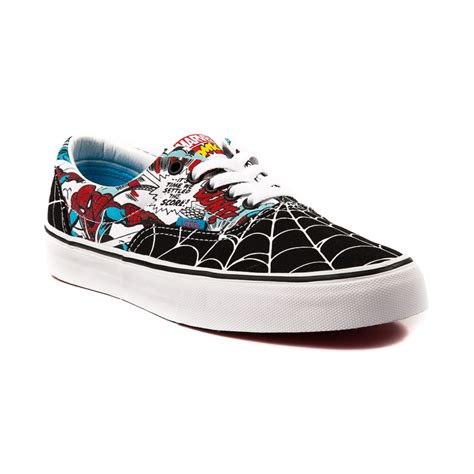 journey sneakers vans era spider skate shoe black white journeys shoes