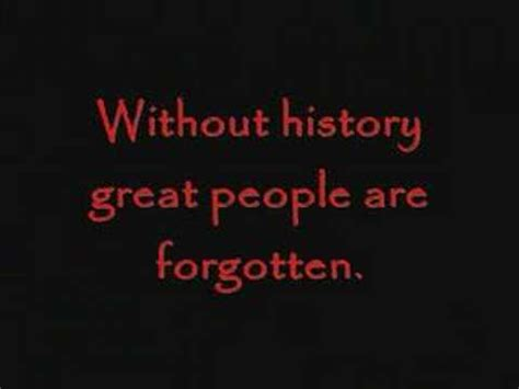 What About History the importance of history