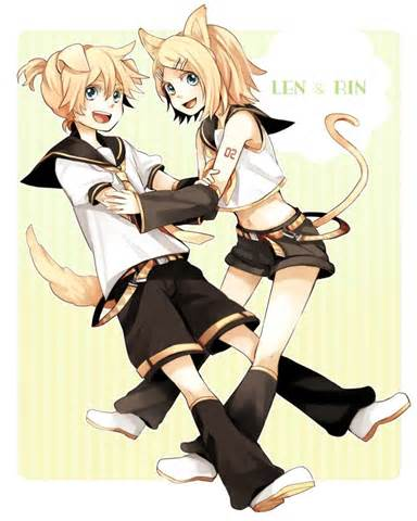 zimmer len len and rin anime picture