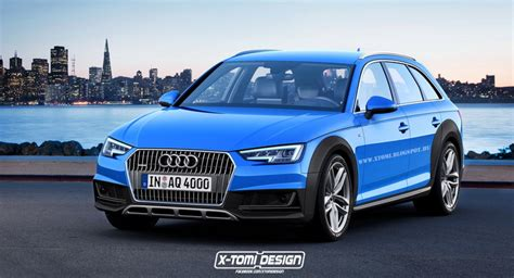 who makes the audi car another all new audi a4 allroad rendering makes the rounds