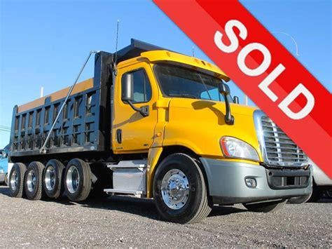 used volvo trucks for sale in usa freightliner dump trucks for sale