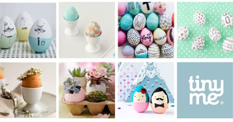 10 Prettiest Easter Decor Items by 10 Easter Egg Decorating Ideas Tinyme