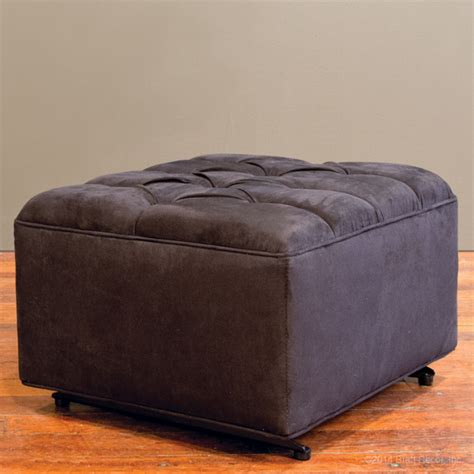 Black Tufted Ottoman Tufted Ottoman Black