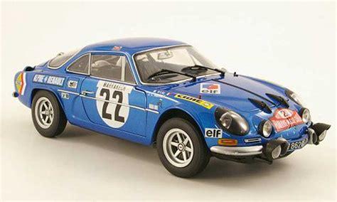 renault alpine a110 rally renault alpine a110 miniature 1600s no 22 j c andruet m