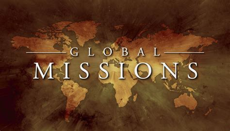 missions of global missions 171 1st united methodist church
