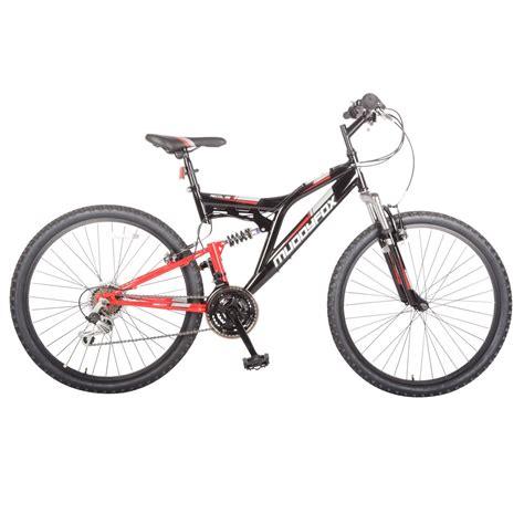 mens cycling muddyfox mens recoil26 mountain bike dual suspension