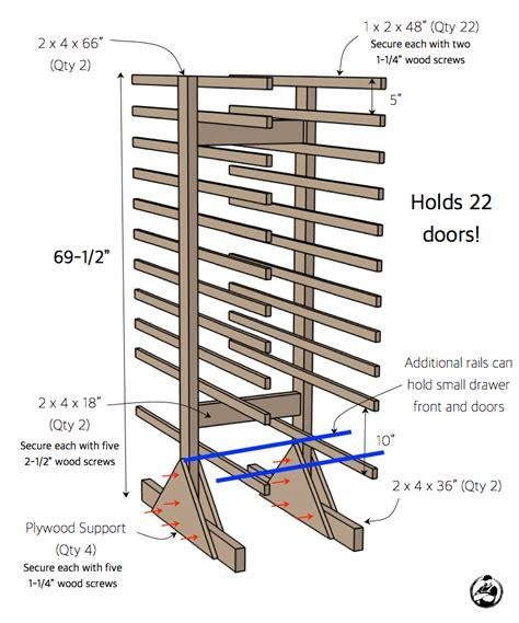 paint drying rack for cabinet doors cabinet door drying rack 187 rogue engineer
