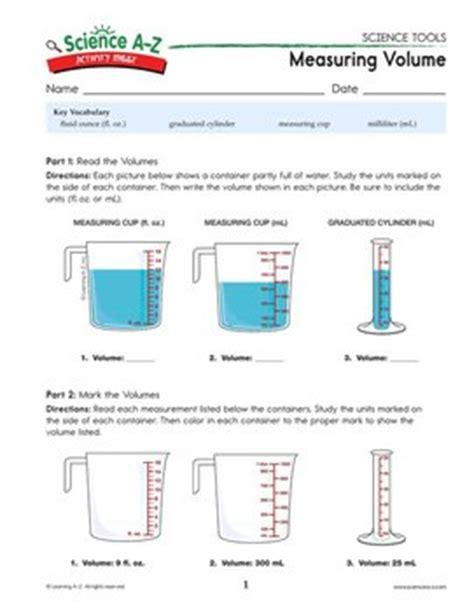 Graduated Cylinder Measuring Liquid Volume Worksheet by 100 Graduated Cylinder Measuring Liquid Volume