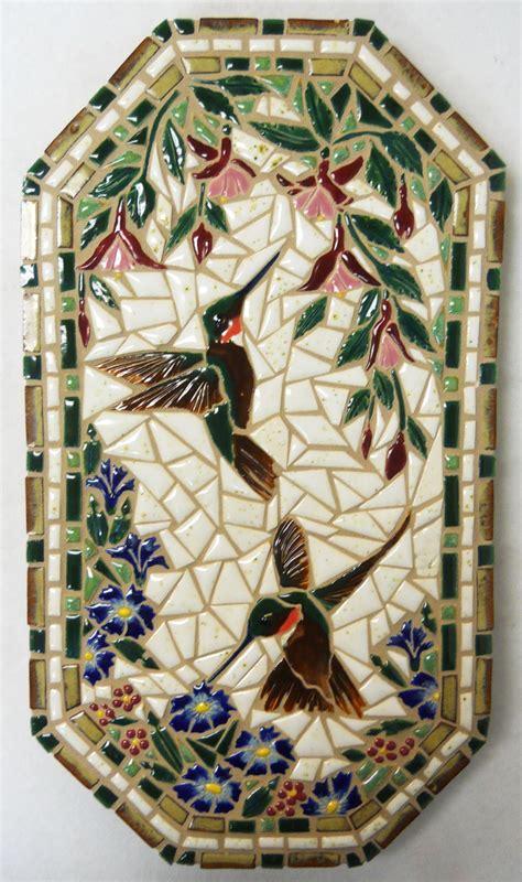 Handmade Mosaic Tiles - mosaic wall handmade ceramic tile by houseofwhisperingfir