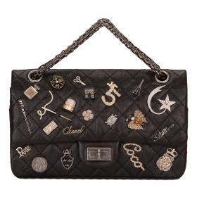 Lscgaa1008 Lucky Fashion Bag chanel black reissue 2 55 lucky charm bag world s best