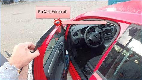 Feuchtigkeit Im Auto R Cklicht by Golf 7 T 252 Rdichtungen Frieren Rue25 Notizen
