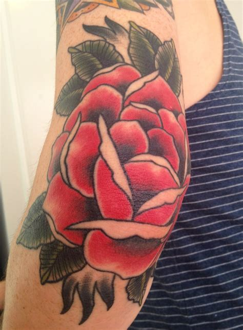 rose tattoo on elbow meaning best 25 ideas on mandala