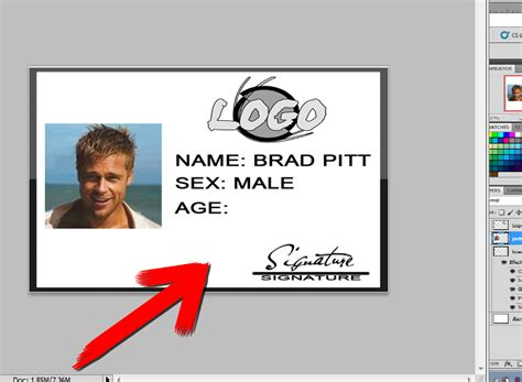 design id card using photoshop how to design an id card using adobe photoshop 5 easy steps