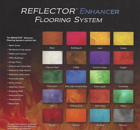 Seamless Flooring   REFLECTOR Enhancer Flooring Systems