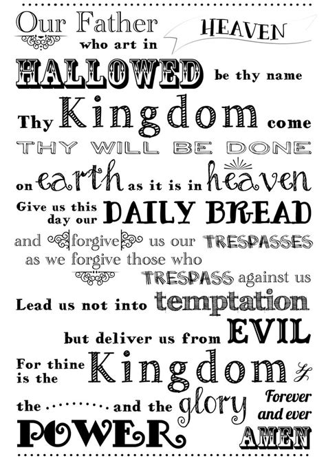 The Lord Prayer images of the lord s prayer the lord s prayer free