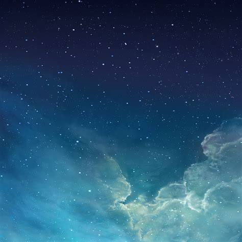 wallpaper for apple tablet freeios7 galaxy blue parallax hd iphone ipad wallpaper