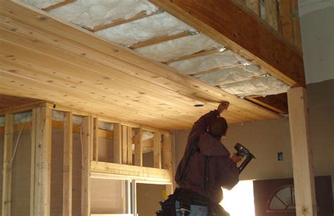Tongue And Groove Cedar Ceiling by Building Process