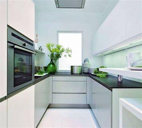 White Glass Kitchen Appliances - 34 u shaped kitchen designs kitchen designs design trends
