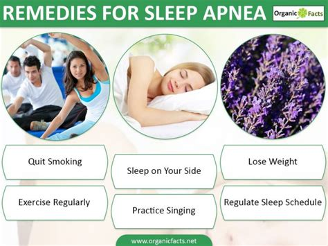9 effective home remedies for sleep apnea organic facts