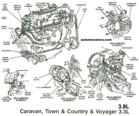 dodge caravan engine diagram dodge 3 liter diesel autos post