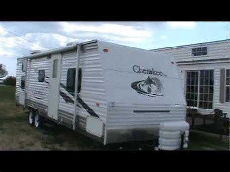 Camper Trailer Floor Plans 2007 cherokee lite 28a travel trailer youtube