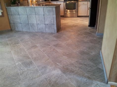 Porcelain Tile Installation Floor Installation Photos Slate Looking Porcelain Tile In Richboro Pa