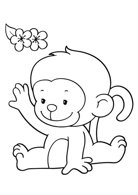 monkey love coloring pages coloring pages monkey and coloring on pinterest