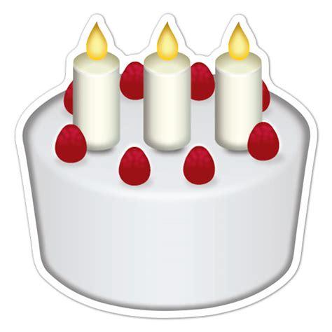 chion candele moto adesivo emoji torta di compleanno