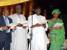 Nigeria New Cabinet by News Nigeria Inaugurates New Cabinet