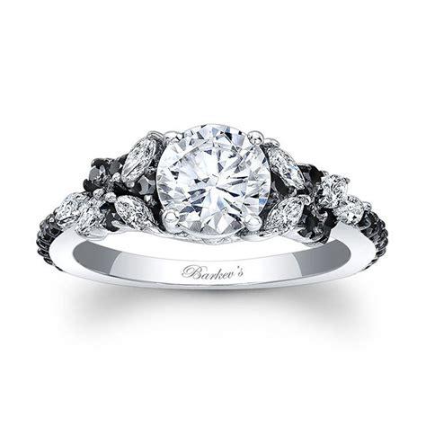 barkev s black engagement ring 7932lbk