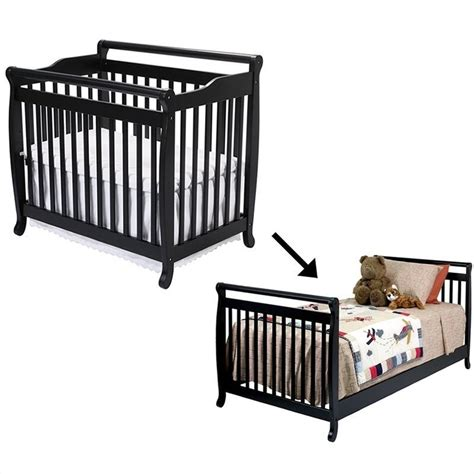 Da Vinci Mini Crib Bedding Davinci Emily Mini 2 In 1convertible Wood Baby Crib Set With Bed Rail In M4798e M4799e Pkg