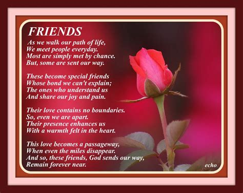 poem for friend friends poetry friendship poems poem and