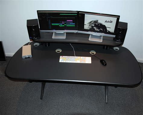editing desk broadcast furniture product gallery mw systems mw