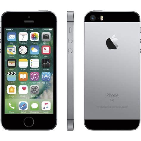 apple iphone se  gb  facetime space grey