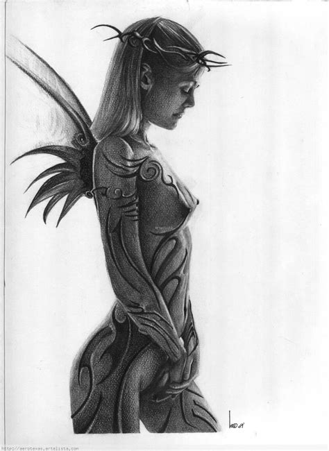 imagenes a lapiz de hadas faeries leandro bujones artelista com