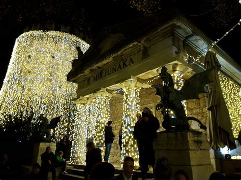 rijeka advent trsat castle fairytale  begun