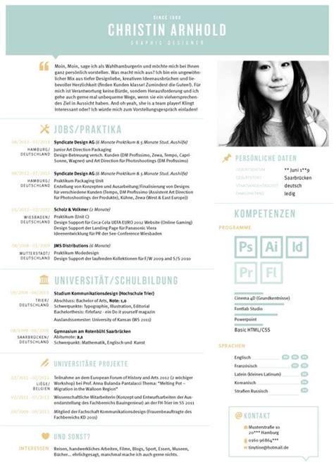 Kreativer Lebenslauf Kreativ Kreativer Lebenslauf And Grafiken On