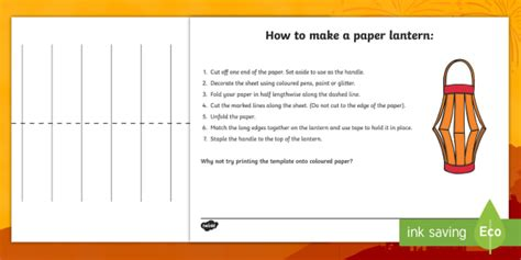new year lantern craft template how to make a paper lantern craft sheets how to