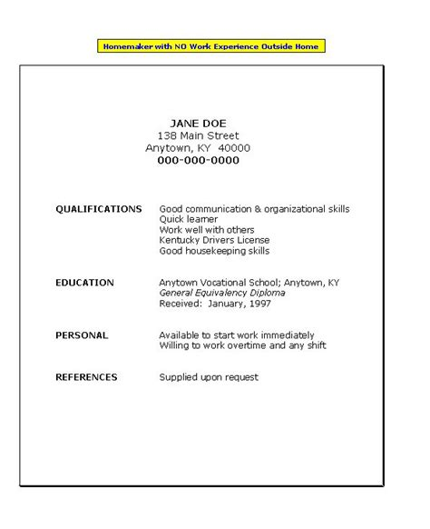 relevant experience resume resume examples experience resume