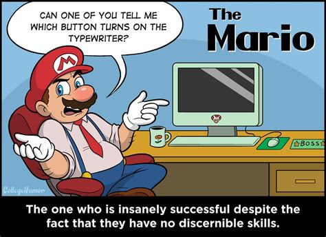 Nintendo Memes - the 6 nintendo characters you have to deal with at work